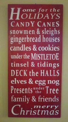 Memories of Home for the Holidays! Christmas decor