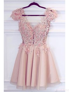 pink homecoming dresses, 2k17 homecoming dresses, applique homecoming dresses, homecoming dresses short, satin homecoming dresses,cheap homecoming dresses, cocktail dresses, graduation dresses, party dresses,prom dresses #SIMIBridal #homecomingdresses