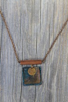 CANYONS NECKLACE. by bootsravendesigns on Etsy