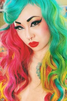 NEW BLOG POST: Jobs that allow colourful rainbow hair. By Anya Goy. https://www.rainbowhaircolour.com/jobs-that-allow-colourful-rainbow-hair/