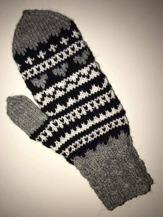Knit Mittens, Gloves, Colours, Wool, Knitting, Hats, Knits, Breien, Tricot