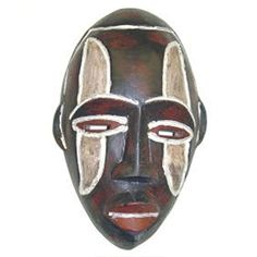 Frafra Hand-crafted Traditional Sesse-wood Tribal Mask (Ghana) -- Awesome products selected by Anna Churchill