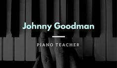 Piano Teacher Music Business Card