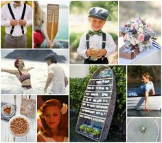 Nautical The Notebook Wedding Inspiration From Linen Lace Love