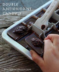 Chocolate Raspberry Candy — A Double Antioxidant!