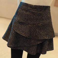 Buy 'CLICK – Inset Shorts Tiered Skirt' with Free International Shipping at YesStyle.com. Browse and shop for thousands of Asian fashion items from South Korea and more!