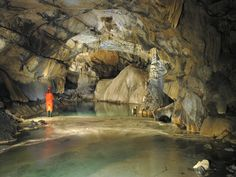 Amazing tour done in Križna cave, full of lakes and beautiful Karst creations.