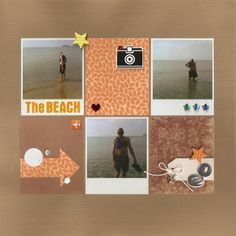 The Beach - Scrapbook.com
