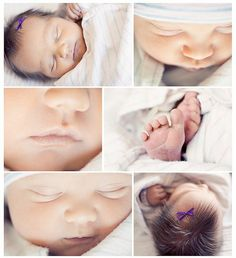 newborn photos at the hospital