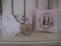 Stitcher: Barb  - Design: The Snowflower Diaries: Spring Bunny Love 2013