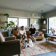 写真米谷享ヴィンテージ好き、浅田夫妻のインテリア。インテリア連載vol.07は、浅田拓郎さん、ちひろさん夫妻のご自宅を訪れます。アパレル会社でMDを務める拓郎さんは、学生時代から大のヴィン