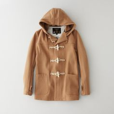 Fidelity Sportswear Wool Hooded Toggle Coat | Men's Outerwear | Steven Alan