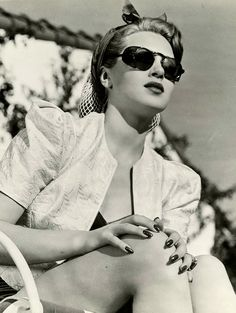 """maudelynn: """" Lana Turner at home, c.1941 (from my collection) """""""