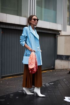 See all the most covetable street style looks from Paris Fashion Week. #parisfashionweeks,