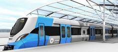 #Alstom starts production of #Kochi #Metro coaches in #India #railway #rollingstock #design