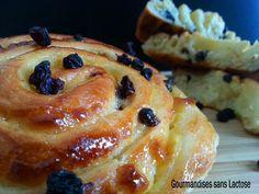 Pains aux Raisins sans Lactose #sanslactose #dairyfree