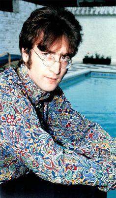 John Lennon - love the shirt :)