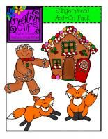 Free Gingerbread Add-On Pack Creative Clips Digital Clipart