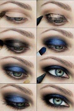 Blue party eyes