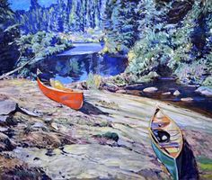 Garth Armstrong - Kawartha Highlands 30 x 36 Canadian Painters, Highlands, Landscapes, Painting, Art, Paisajes, Painting Art, Scottish Highlands, Paintings