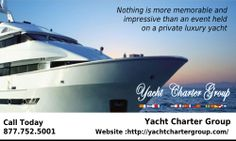 Yacht Charter Group has years of experience managing all types of birthday parties, anniversaries, corporate events on a broad range of yachts worldwide.We offer you quality boat rentals, boat rentals in Miami, Ft Lauderdale, Palm Beach and Boca Raton. We are one of the world's foremost yacht owners who, for over three decades. http://yachtchartergroup.com/miami/