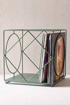 Cramer Vinyl Storage Crate - Urban Outfitters