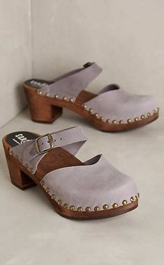 Sandgrens Lisbon Clogs #anthrofave