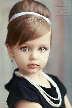 #Retro #chic little girl, shr3h eradi nyankupong! aii