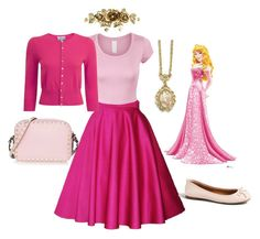 A fashion look from February 2017 featuring women's plus size cardigans, cropped shirts and knee length skirts. Browse and shop related looks. Disney Princess Outfits, Disney Dress Up, Disney Bound Outfits, Disney Inspired Fashion, Disney Fashion, Dapper Day Outfits, Cute Outfits, Day Dresses, Plus Size Dresses