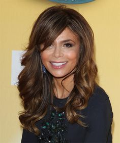 Paula Abdul Hairstyle - Long Wavy Formal -