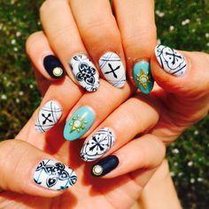 Thai art nails