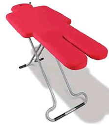 Ironman Ironing Board. This makes so much sense!