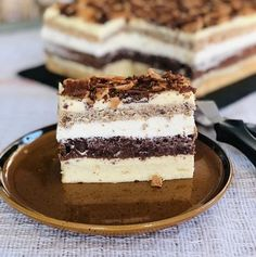 Sweets Recipes, Cake Recipes, Cooking Recipes, Banana Parfait Recipe, Romanian Desserts, Different Cakes, Homemade Cakes, Creative Food, Cake Cookies