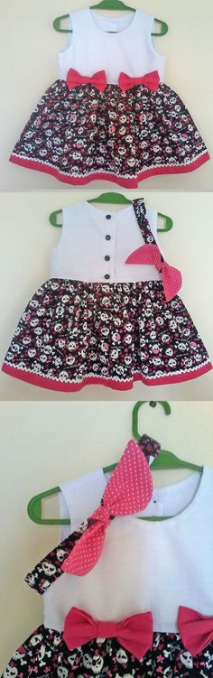 Vestido bebê - Baby Dress -- -- baby - infant - toddler - kids - clothes for girls - Moldes Gratuitos - Free Patterns -----------------------------------------------------Molde grátis em https://www.facebook.com/groups/1594730384185604/