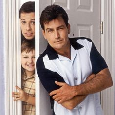Two and a Half Men...Charlie Sheen is way better than Ashton Kutcher though