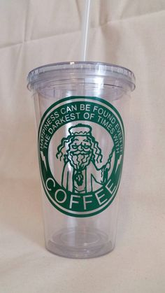 Harry Potter Coffee Mug Plastic Reusable door TwinkleTwirlandSass