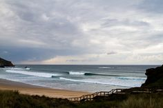 A small clean swell lights up Armado in the Algarve. Photo Luke Gartside