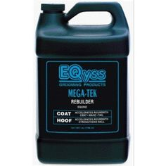 Mega-Tek Rebuilder Hoof, Mane & Tail, 1 Gal by Eqyss. $162.00. Makes hoofs grow from 10% to 50% faster and 30% stronger. Sand cracks and chipping is reduced, quarter cracks grow faster. Fantastic for shelly footed horses.  michael plumb s horse journal product of the year. Amazing results! Accelerates hair regrowth on bare spots caused by equipment and blanket rubs, skin conditions or injuries. Great for lengthening manes & tales. Makes hair stronger reducing breakage.