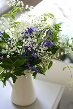 Flowers in a Pitcher | pitcher of flowers | Gardens @> | Pinterest