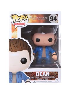 Supernatural Pop! Television Dean Vinyl Figure | Hot Topic
