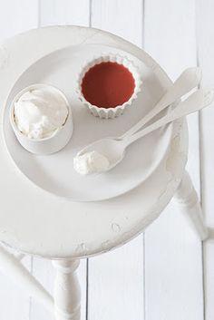 Strawberriesh and creamy.