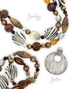 Zoology and zebra enhancer! Visit Carolyn Popp Premier Designs Jewelry on Facebook.