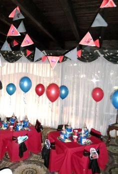 Cars theme party