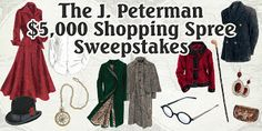 A CHANCE 2 WIN A SHOPPING SPREE @ J PETERMAN: http://woobox.com/xqyvrb/hjz3rw NOW I KNOW I'M GONNA LOOK CUTE!