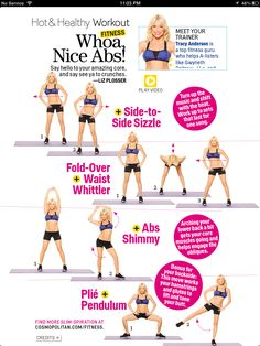 Whoa! Nice Abs by Tracy Anderson