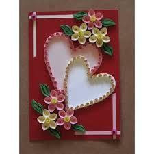 Résultats de recherche d'images pour «handmade birthday card ideas by paper quilling paper»