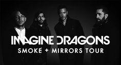 Imagine Dragons en concert à Lyon | La tête en claire