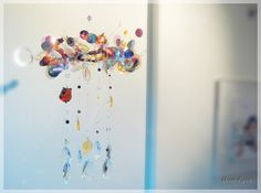 Autumnal Tint Hanging Mobile / Autumnal tint Baby by MOON4YOU, $70.00