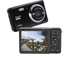 HD Mini Digital Camera with Inch TFT LCD Display, Digital Point and Shoot Camera Video Camera Student Camera, Indoor Outdoor for Kids/Beginners/Seniors (Black) Cup Holder Phone Mount, Air Vent Phone Holder, Car Phone Mount, Cell Phone Holder, Top Digital Cameras, Digital Camera Prices, Mini Digital Camera, Point And Shoot Camera, Mobile Shop