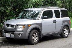 My future car!!! A Honda Element.